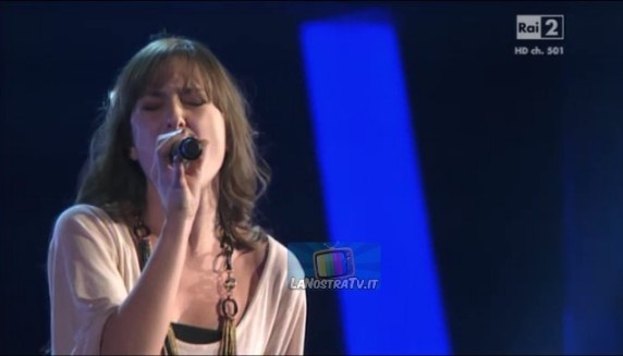 Foto di Ilaria a The Voice of Italy