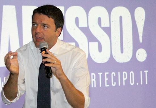 Matteo Renzi su Canale 5