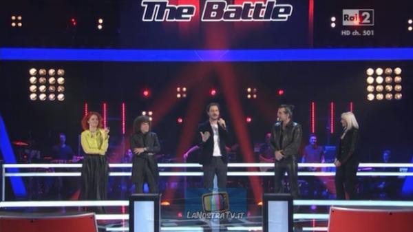 Foto dei giudici di The Voice of Italy