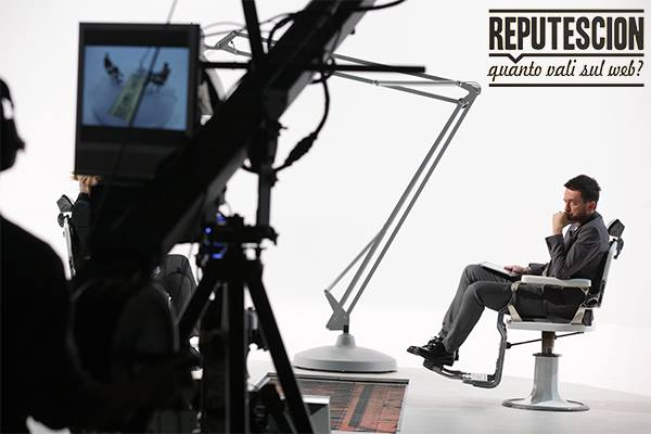 Il conduttore di Reputescion Andrea Scanzi
