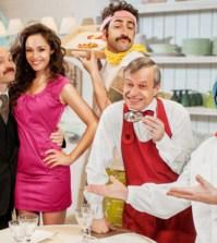 la cena dei cretini - terza puntata