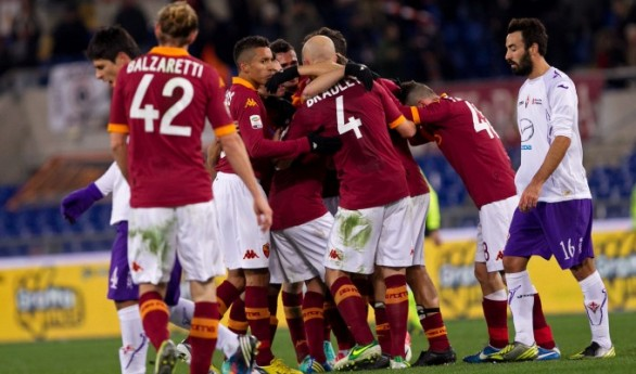 Serie A, Fiorentina - Roma