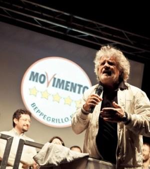 Grillo annuncia lo sbarco in tv dei 5 Stelle