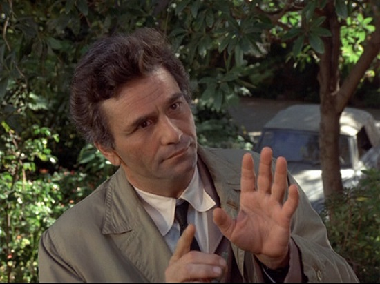 Peter Falk interpreta l'agente Colombo