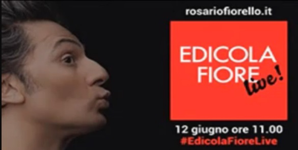 Edicola Fiore Live: diretta streaming dell'ultima puntata dello show di Fiorello