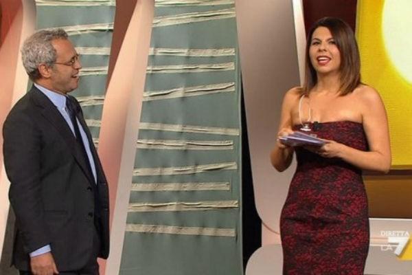 Geppi Cucciari lascia La7: nel 2014 in Rai o Mediaset