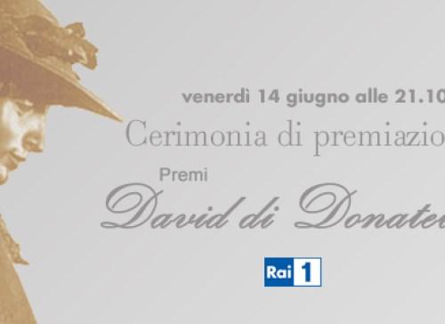 foto del logo dei david di donatello