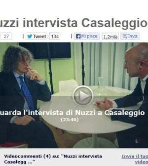 Nuzzi nell'intervista a Casaleggio sul Blog di Beppe Grillo