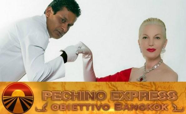 Daniela Del Secco D'Aragona e Gregory pechino express