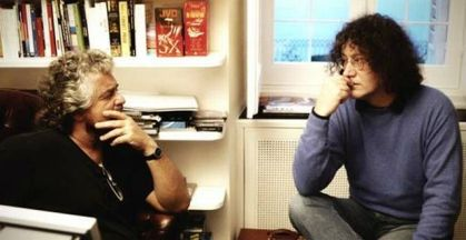 Beppe Grillo e Roberto Casaleggio