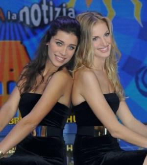 Le Veline Ludovica e Irene