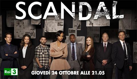 Su Rai3 la prima stagione del thriller politico di Shonda Rhimes Scandal
