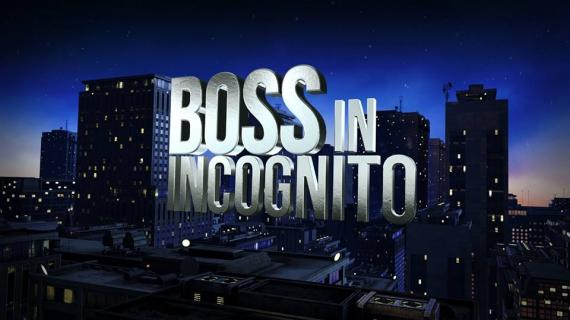 boss in incognito su Rai 2