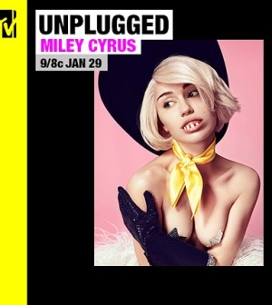 Miley Cyrus a Mtv Unplugged