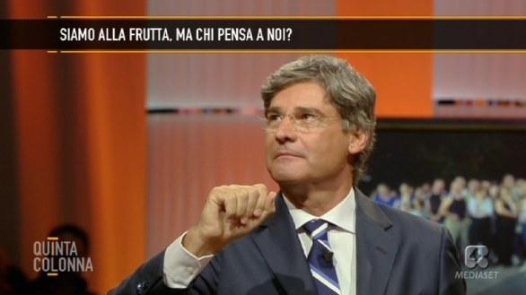 Paolo Del Debbio conduce Quinta Colonna