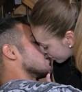 Aldo e Alessia felici