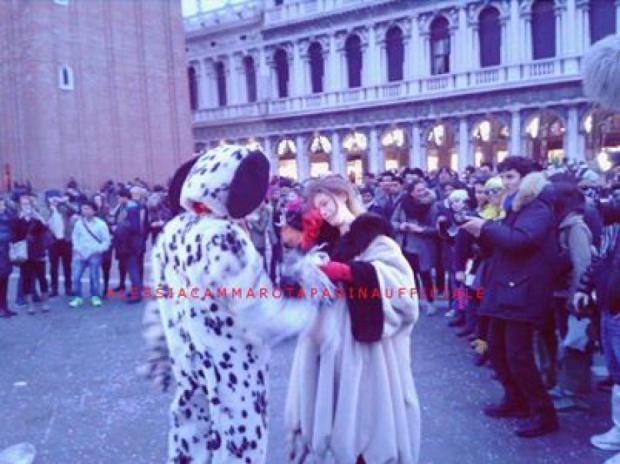 Aldo Palmeri ed Alessia a Venezia dopo la scelta