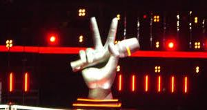 foto del logo di the voice of italy