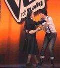 foto di suor cristina e j-ax a the voice 2