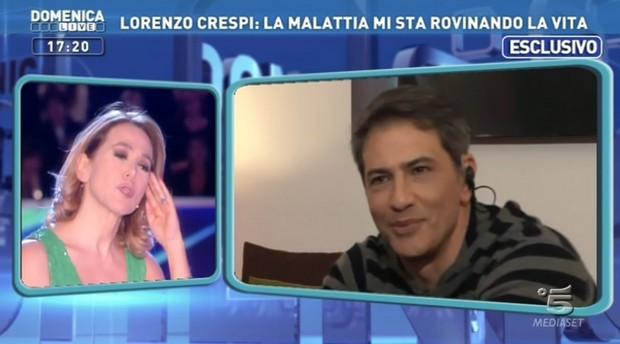 Lorenzo Crespi a Domenica Live
