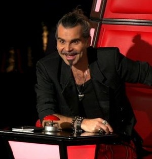The Voice 2014 coach Piero Pelù