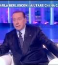 Silvio Berlusconi ospite da Barbara D'Urso