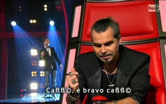 quarta puntata the voice pierò pelù