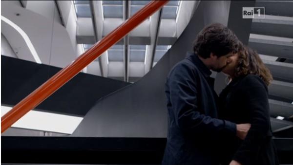 un medico in famiglia 9 bacio sara e lorenzo