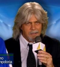 Maurizio Crozza nel promo di Crozza nel Paese delle Meraviglie