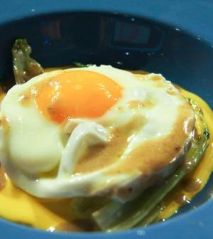 foto uovo fritto
