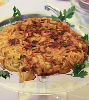 foto frittata pasta e verdure