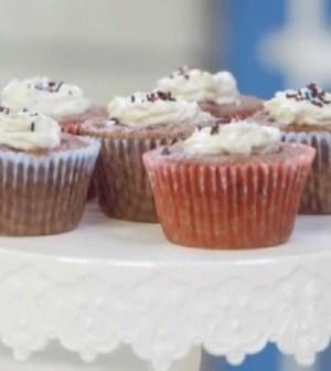 foto muffin con gocce di cioccolato e muesli