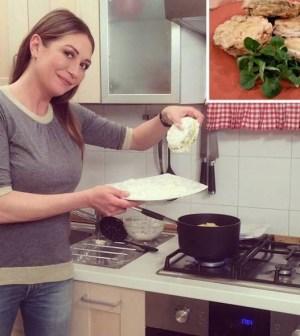 foto Tessa Gelisio cotto e mangiato