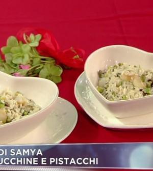 foto riso con zucchine e pistacchi