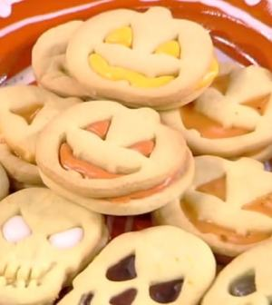 Le Ricette Di Samya Oggi 30 Ottobre I Biscotti Delle Streghe