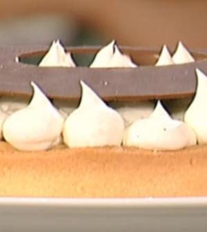 foto crostata cioccolato e pere