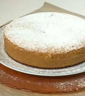 foto torta allo zafferano Cotto e Mangiato