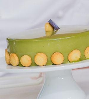 foto torta green