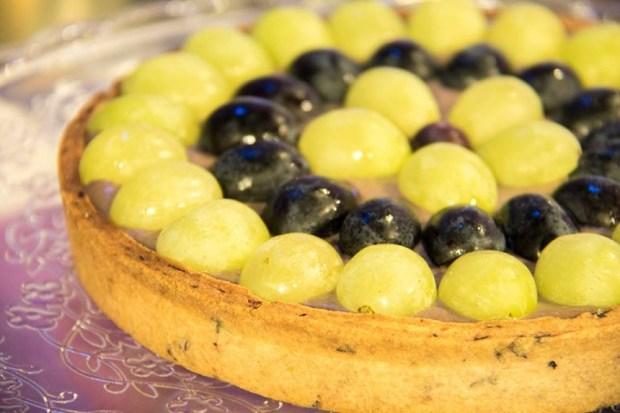 foto crostata uva