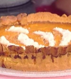 foto torta zucca e mandorle
