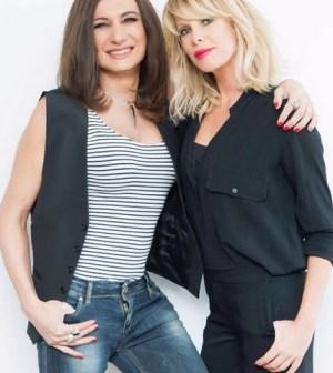foto Vladimir Luxuria e Alessia Marcuzzi