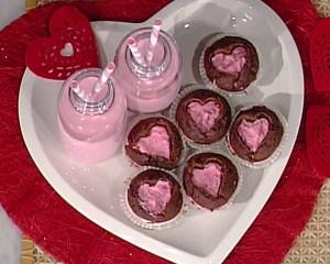 foto cupcake rosa