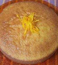 foto torta arancia oggi Cotto e Mangiato