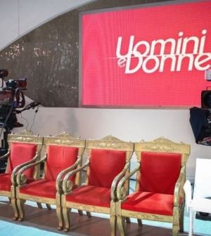 foto Uomini e Donne studio