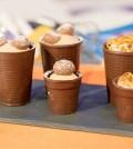foto bicchierini di cioccolato