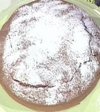 foto ciambella pere e cioccolato