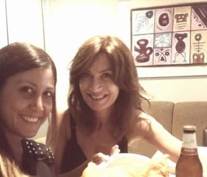 foto Barbara De Santi con un'amica