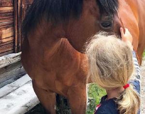 Foto Mia e il cavallo