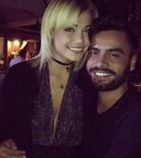 Camilla Mangiapelo festeggia il suo compleanno con Mario Serpa