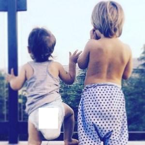 foto figli di Marco Bocci